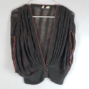 Moth S linen blend sleeveless sweater